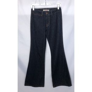 J Brand Wide Leg Flare Jeans Size 28